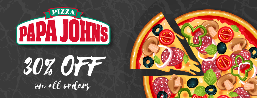 Get Flat 30 Off With Papa John S Coupons Promo Codes And Deals April 2020
